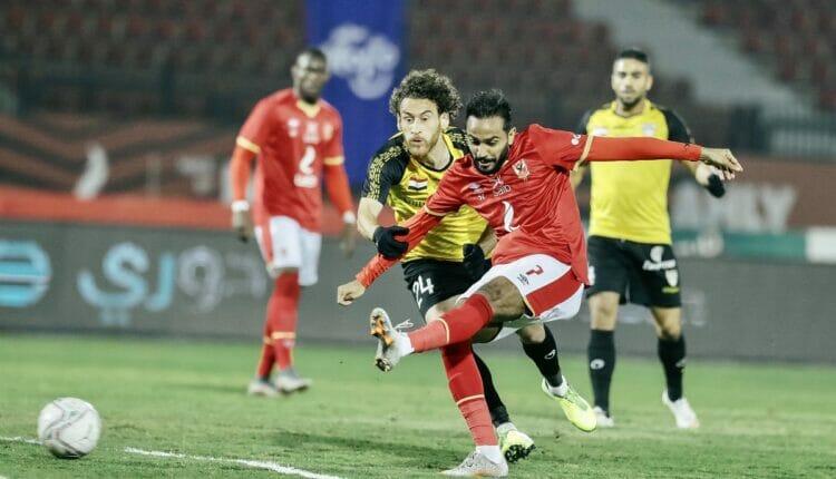 مباراة الأهلي المصري والانتاج الحربي