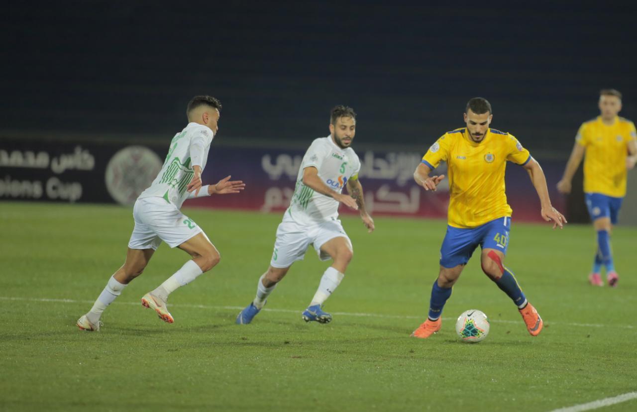 مباراة الرجاء المغربي والإسماعيلي المصري
