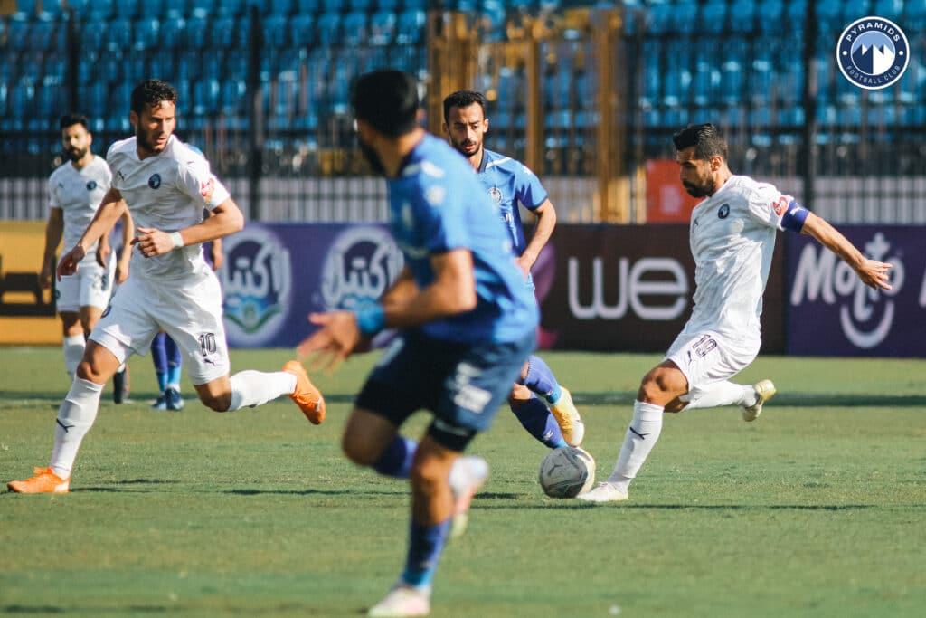 مباراة بيراميدز وسموحة المصري