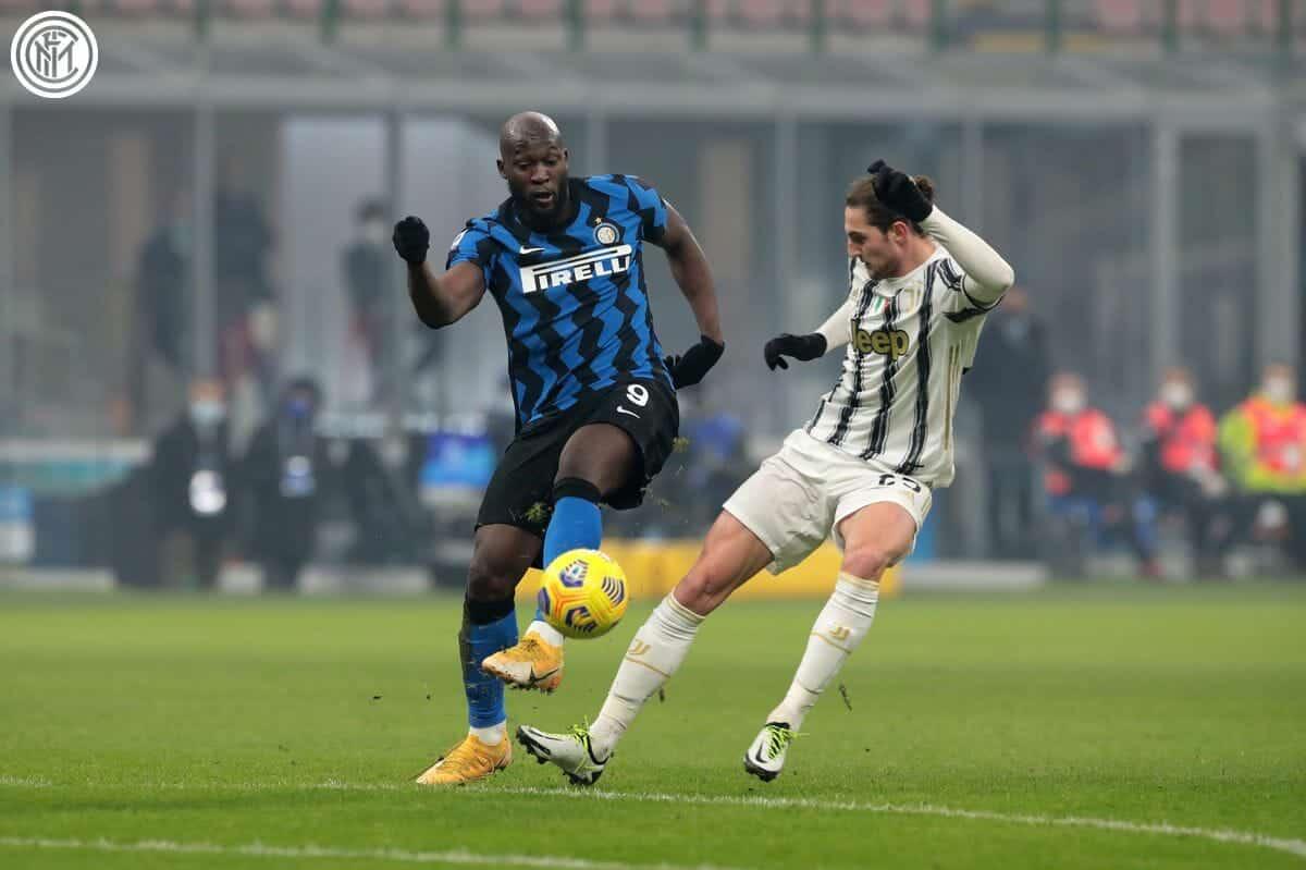 مباراة يوفنتوس والانتر ميلان في قمة الكلاسيكو الإيطالي