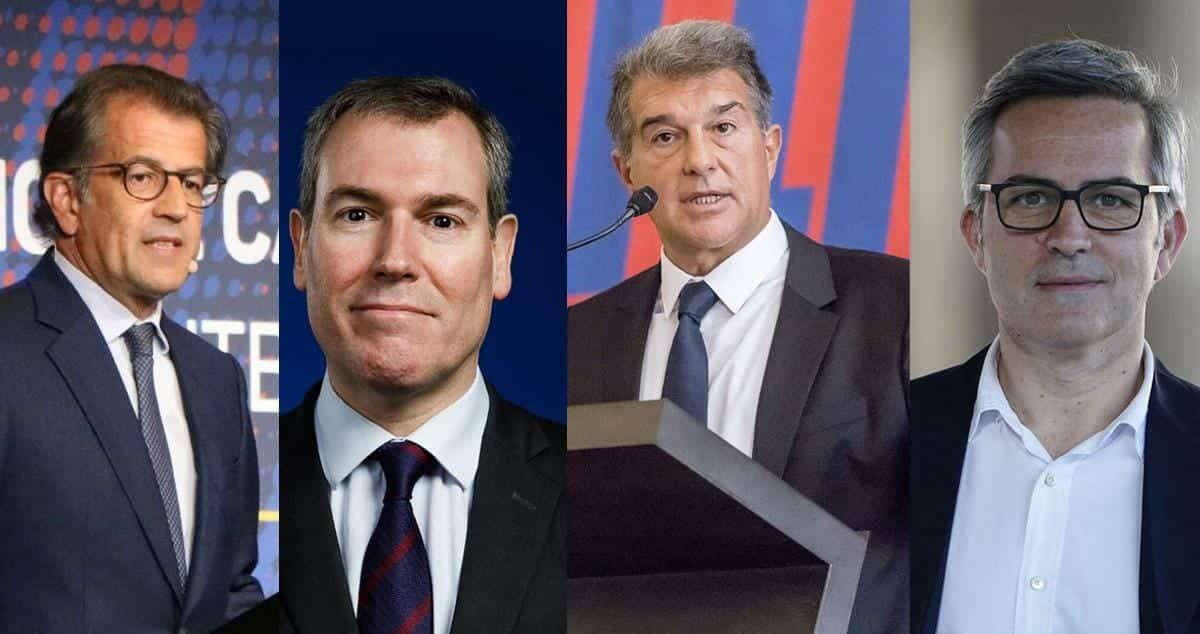 مرشحو رئاسة فريق برشلونة الإسباني في الانتخابات القادمة