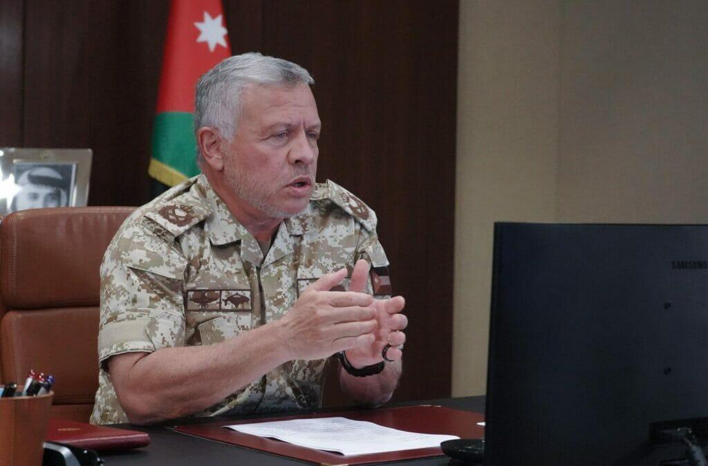 """""""شاهد"""" تعليق غاضب من الملك الأردني على مذبحة نيوزيلندا"""
