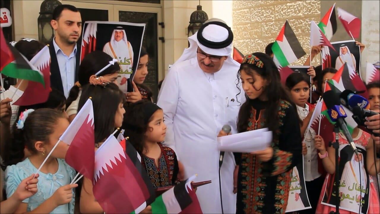 شعبية أمير قطر في قطاع غزة
