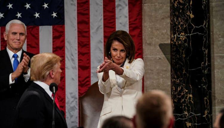 نانسي بيلوسي وترامب