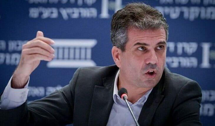 وزير الاستخبارات الاسرائيلي ايلي كوهين