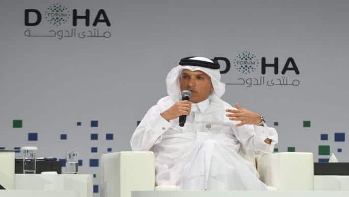 وزير المالية القطري علي العمادي