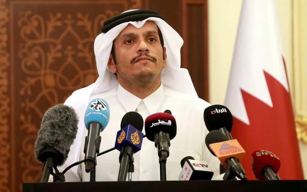 وزير الخارجية القطري: ما زلنا نسمع أصواتا هنا وهناك تصر على أن هناك حلا لهذه القضية