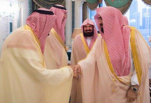 عبدالرحمن السديس والملك سلمان