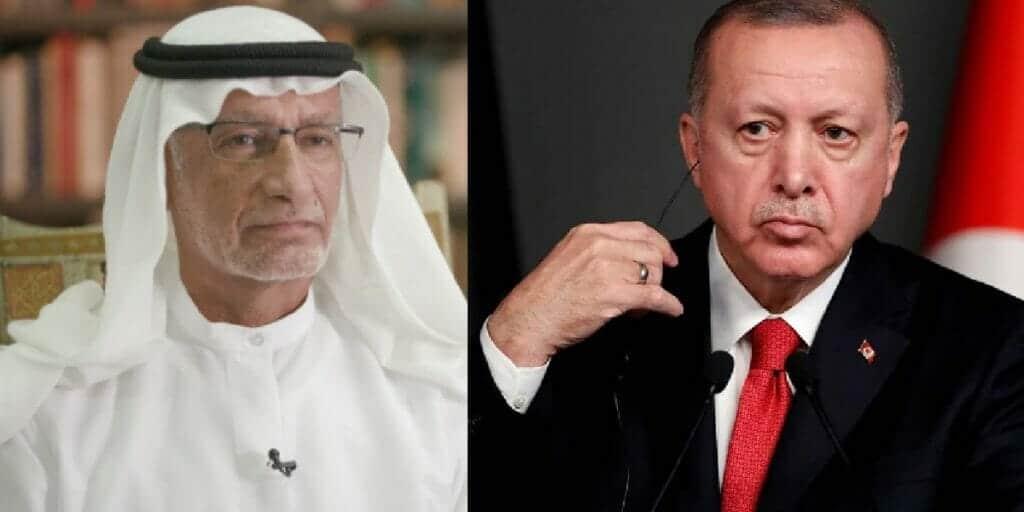 صورة أردوغان وهو يحمل نعش عالم الدين محمد أمين سراج تثير جنون مستشار ابن زايد!