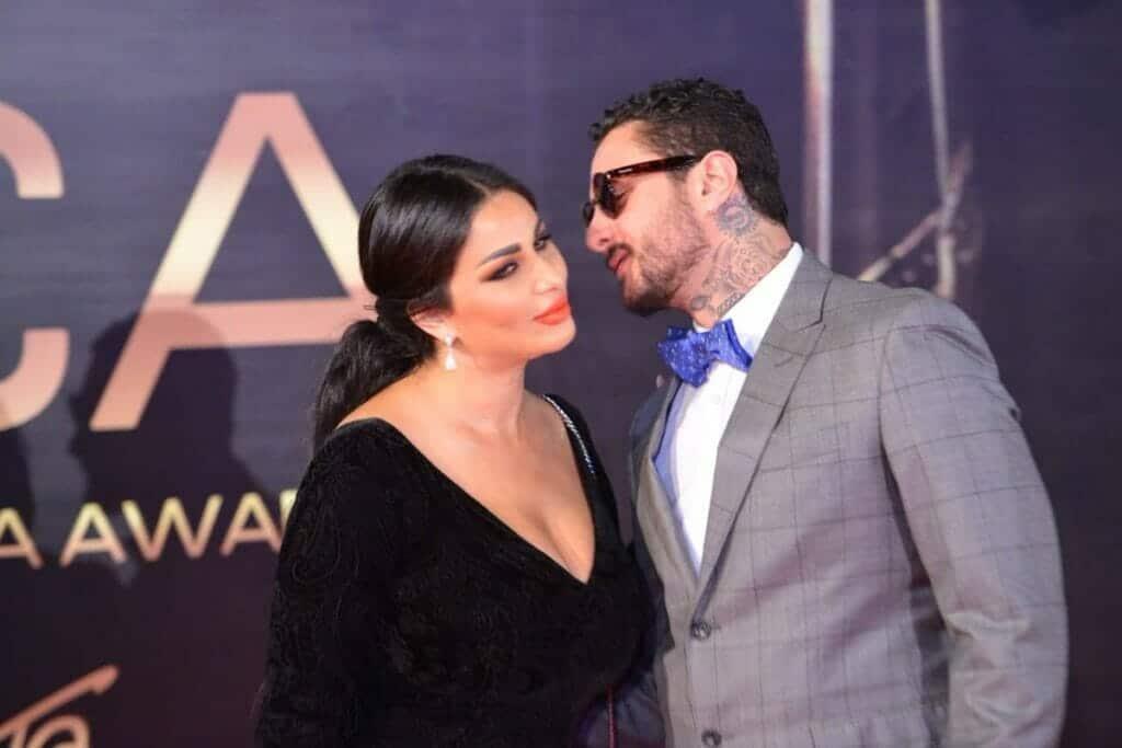 احمد الفيشاوي وزوجته في صور مثيرة