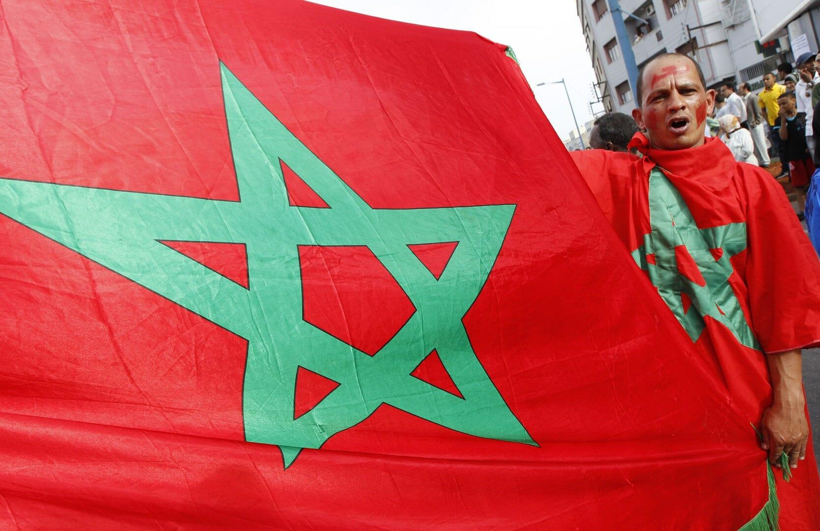 الذئب المغربي يخترق مواقع التلفزة التونسية