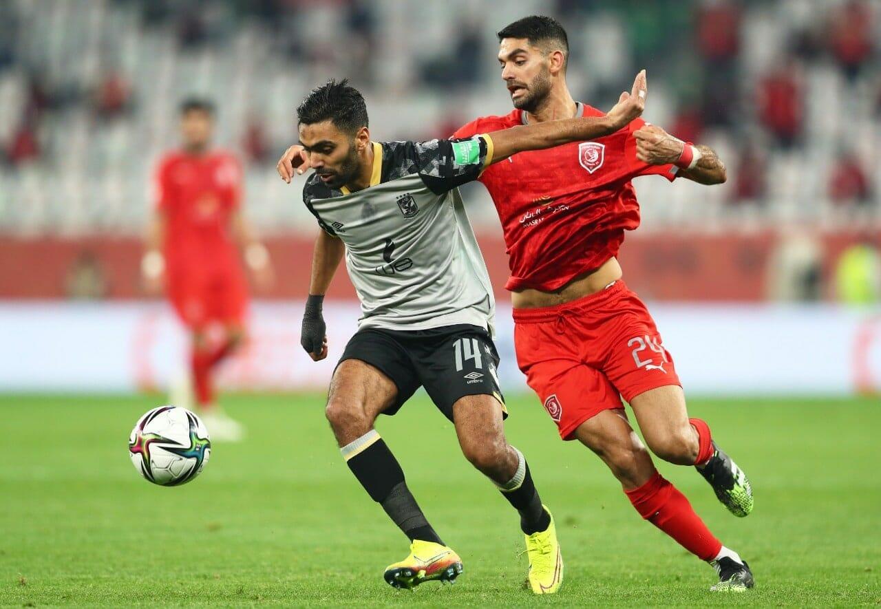مباراة الأهلي والدحيل المصري