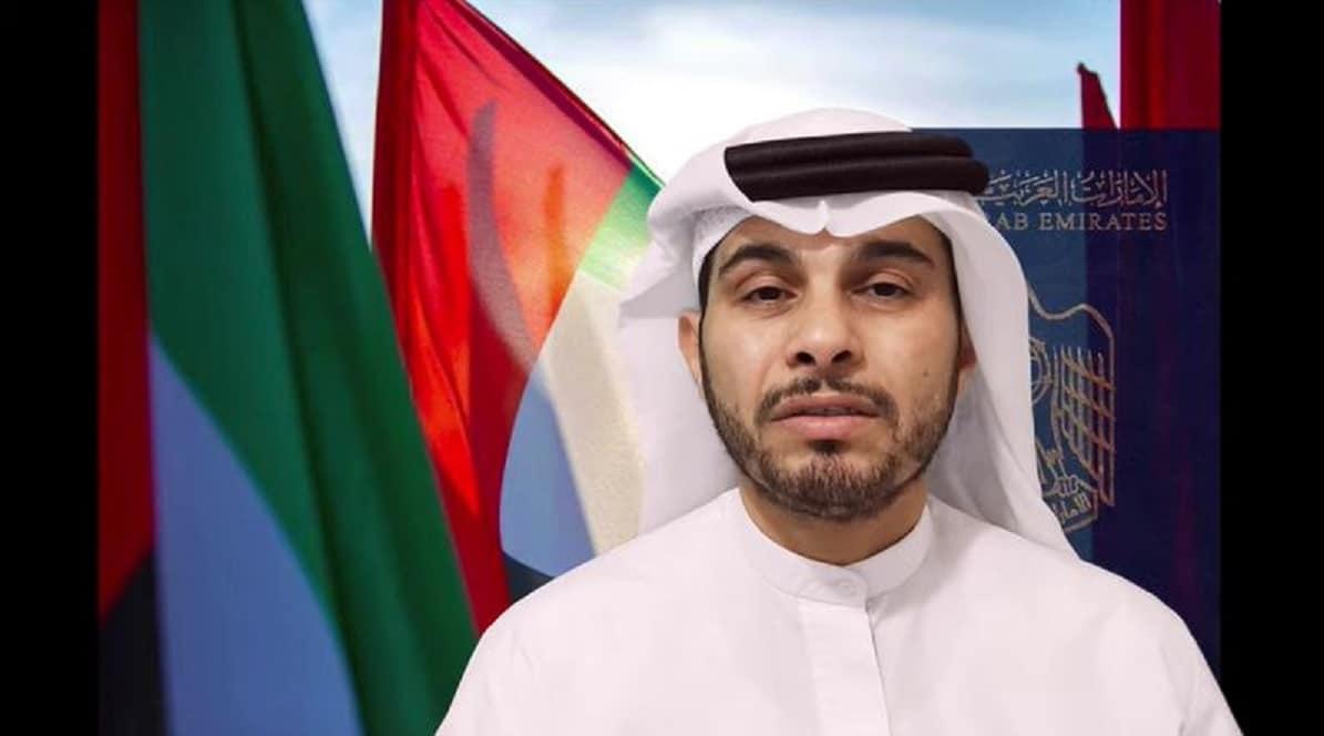 جاسم راشد الشامسي يفضح حاكم الامارات
