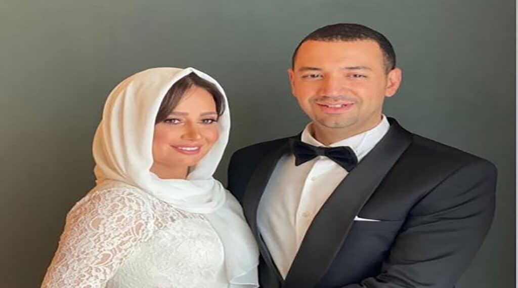حلا شيحة تعود إلى السوشيال ميديا بعد زواجها من الداعية معز مسعود