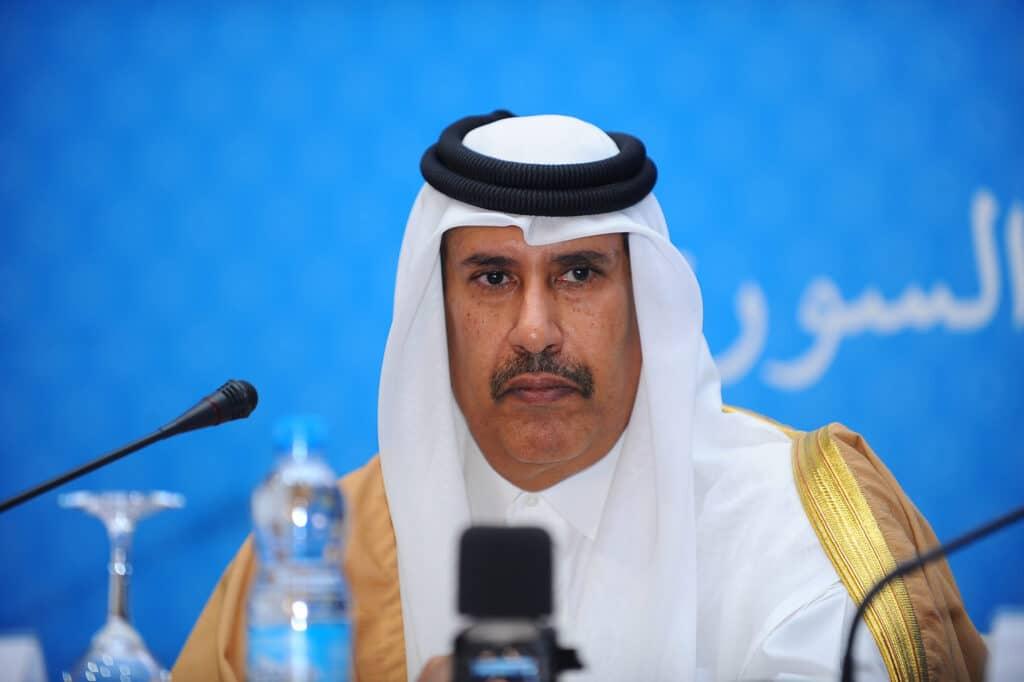 حمد بن جاسم يدعو دول الخليج إلى وضع تشريعات وقوانين تحمي كل اعضاء مجلس التعاون