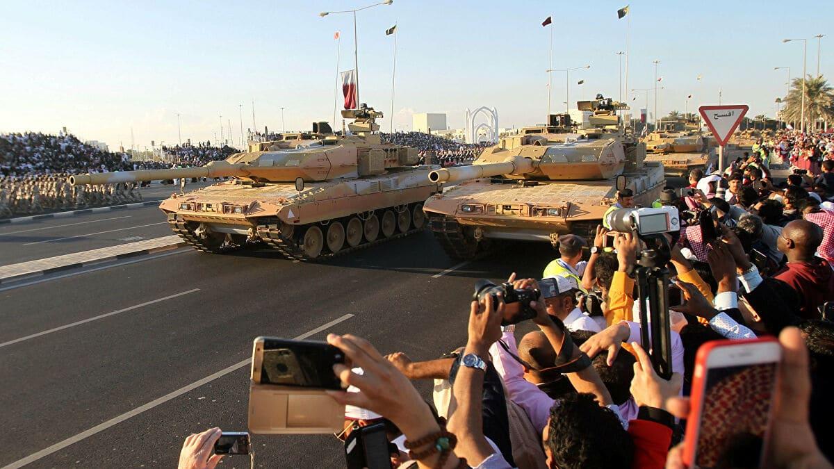 قطر نحو السعودية بالدبابات لمواجهة غزو خطير معركة الخفجي
