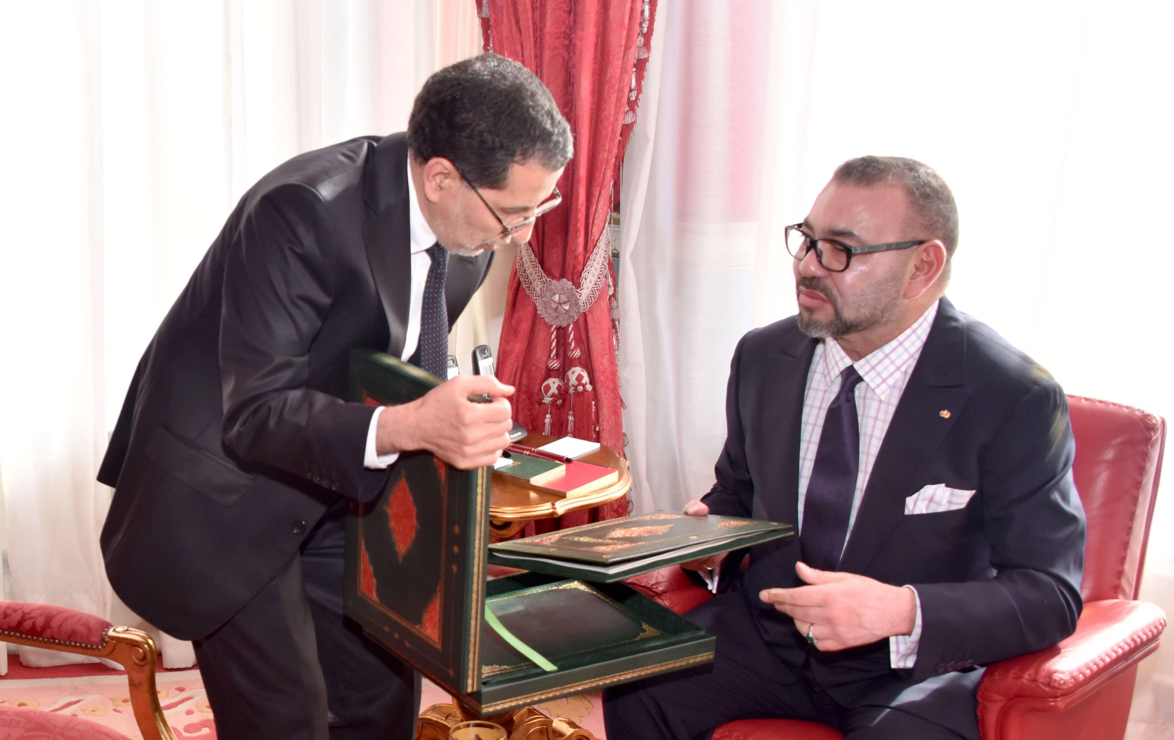 سعد الدين العثماني والملك محمد السادس