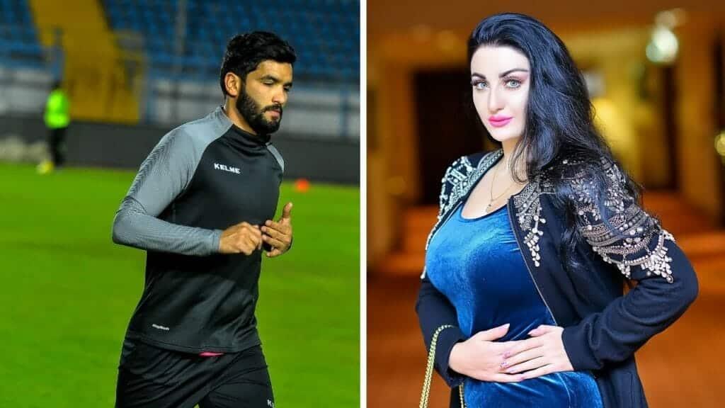 زوجة اللاعب صالح جمعة تفجر أزمة جديدة بتعليق ناري بعد فضيحة صافيناز!