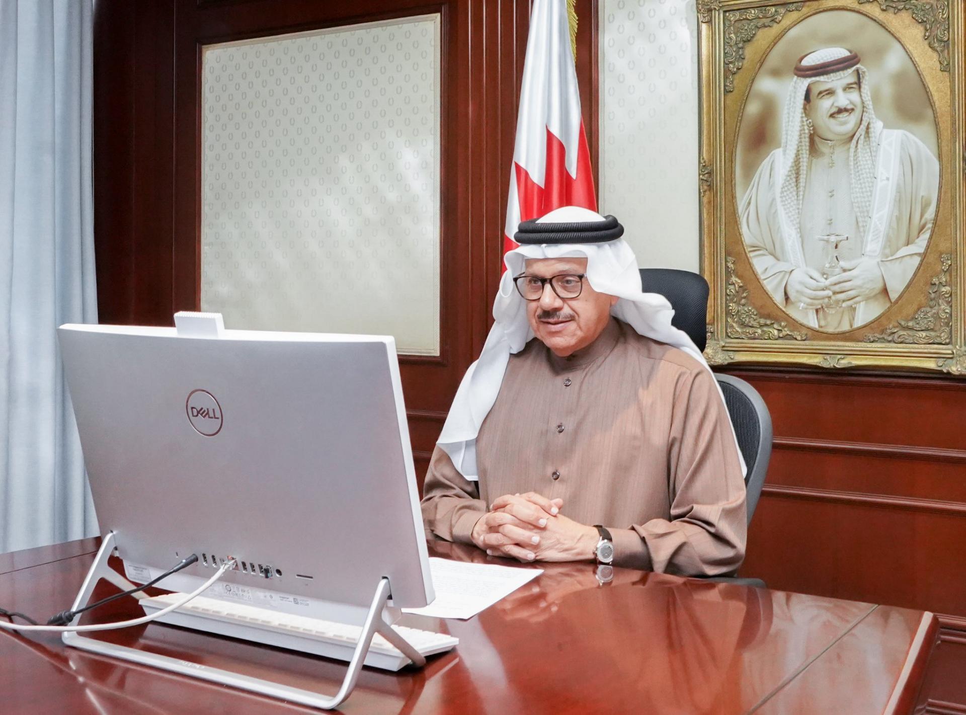 عبداللطيف الزياني وزير خارجية البحرين