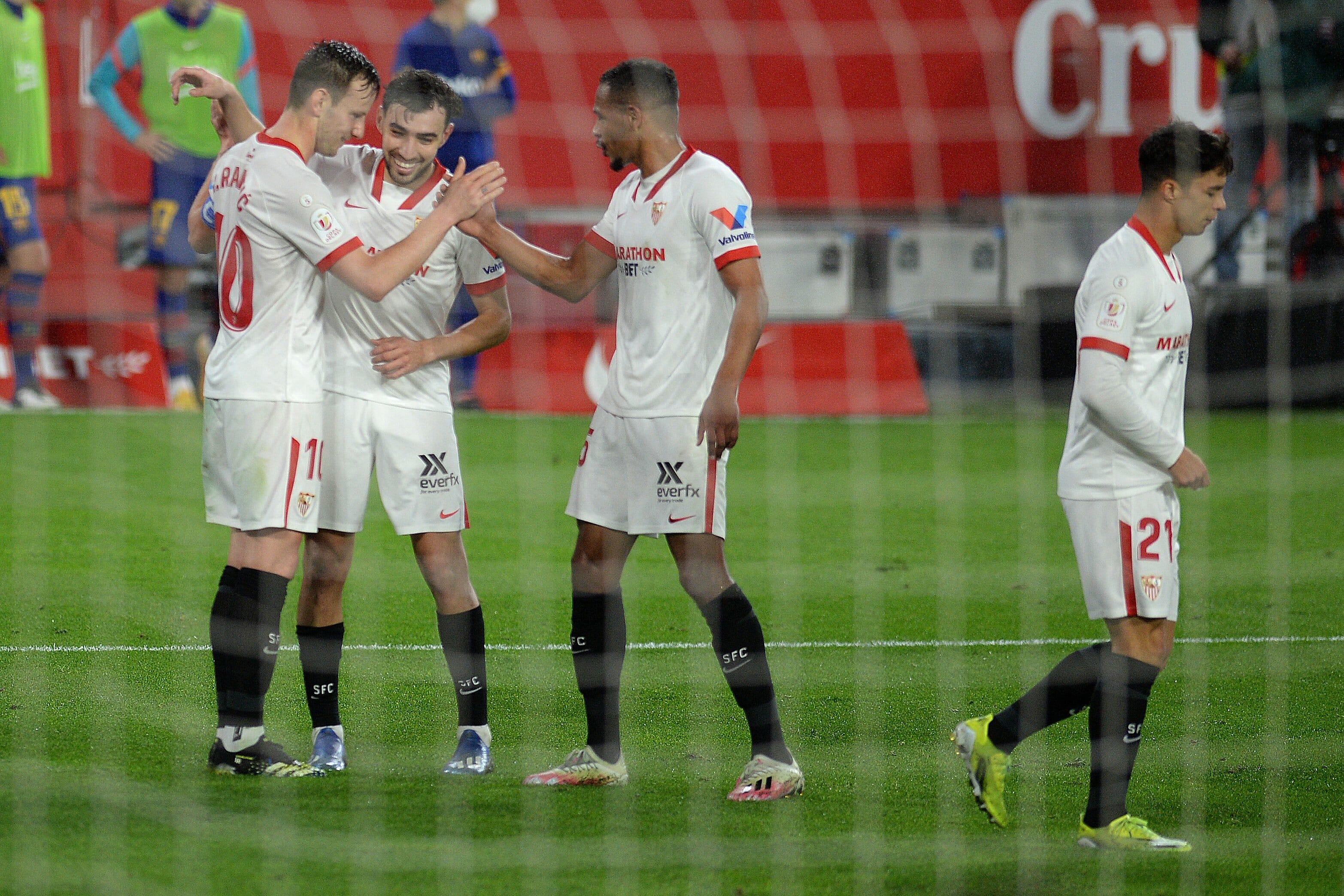 اشبيلية يضع قدماً في نهائي كأس ملك إسبانيا