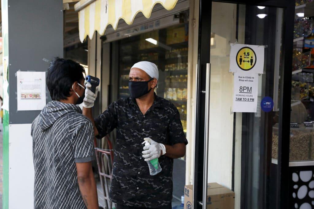 فيروس كورونا في دبي