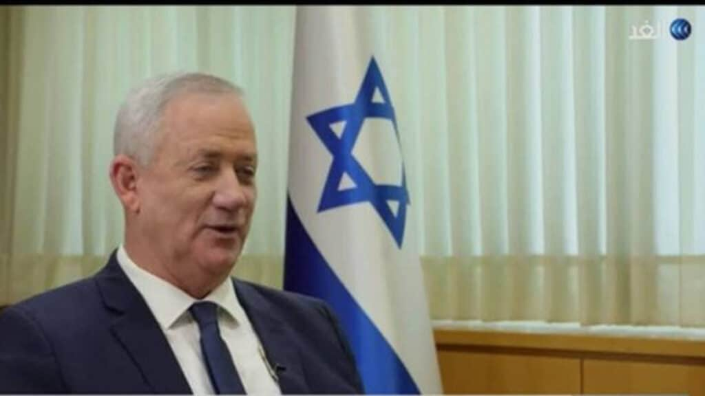 قناة الغد تستضيف بين غانتس وزير الجيش الاسرائيلي
