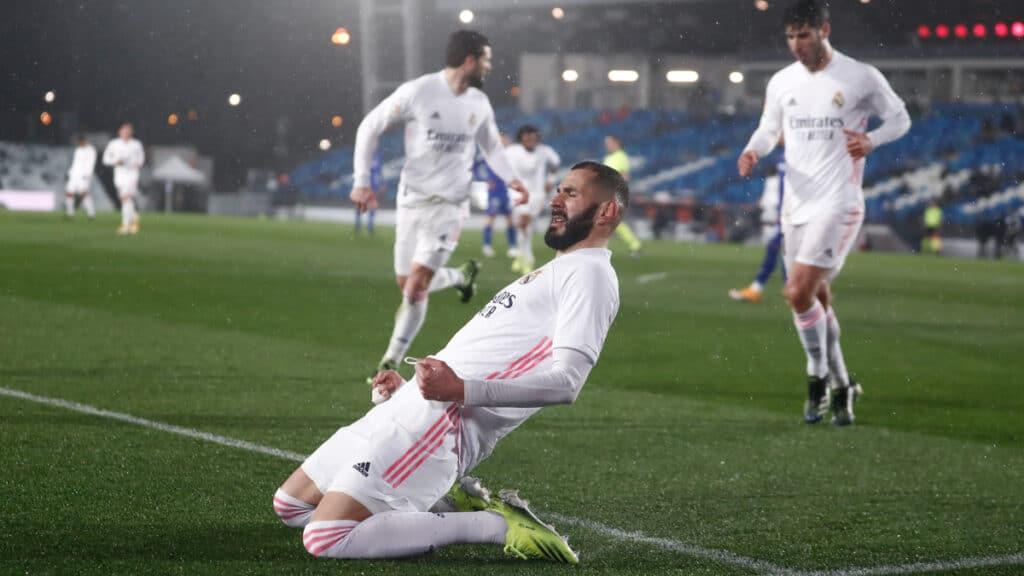 ريال مدريد يلاحق متصدر الليغا أتلتيكو مدريد بعد فوزه المثير على خيتافي