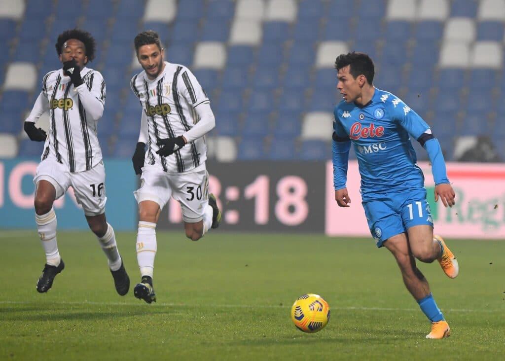 موعد مباراة قمة الديربي الإيطالي اليوم بين يوفنتوس ونابولي والقنوات الناقلة