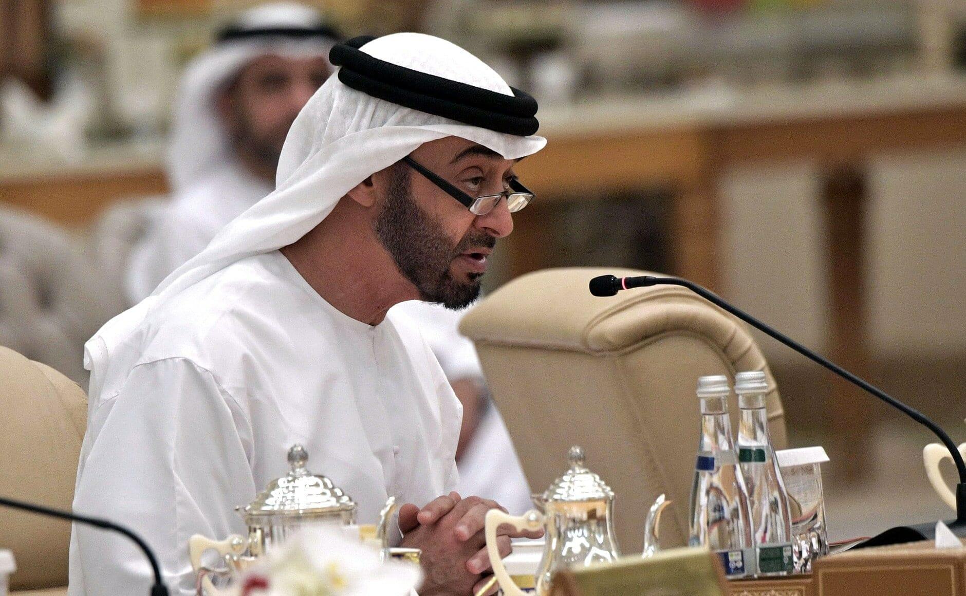 محمد بن زايد و الإمارات