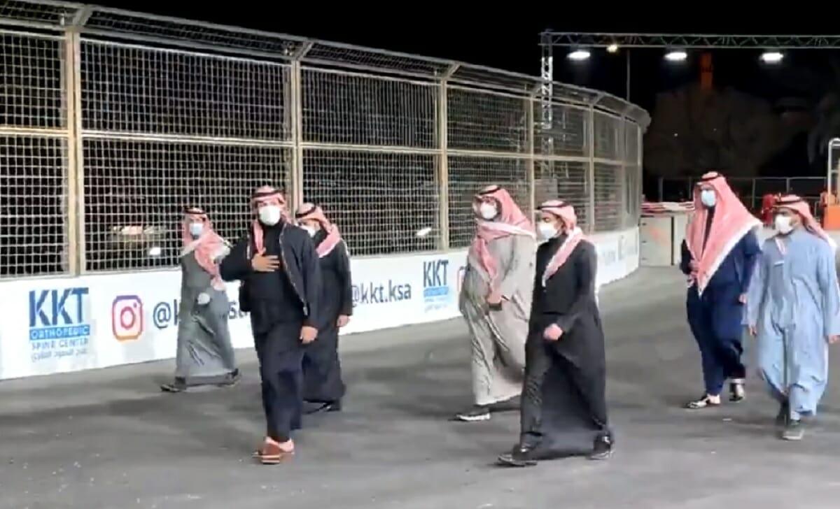 محمد بن سلمان في الدرعية في أول ظهور بعد نشر التقرير السري لمقتل خاشقجي