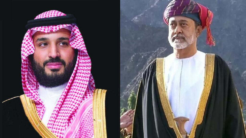 محمد بن سلمان و هيثم بن طارق