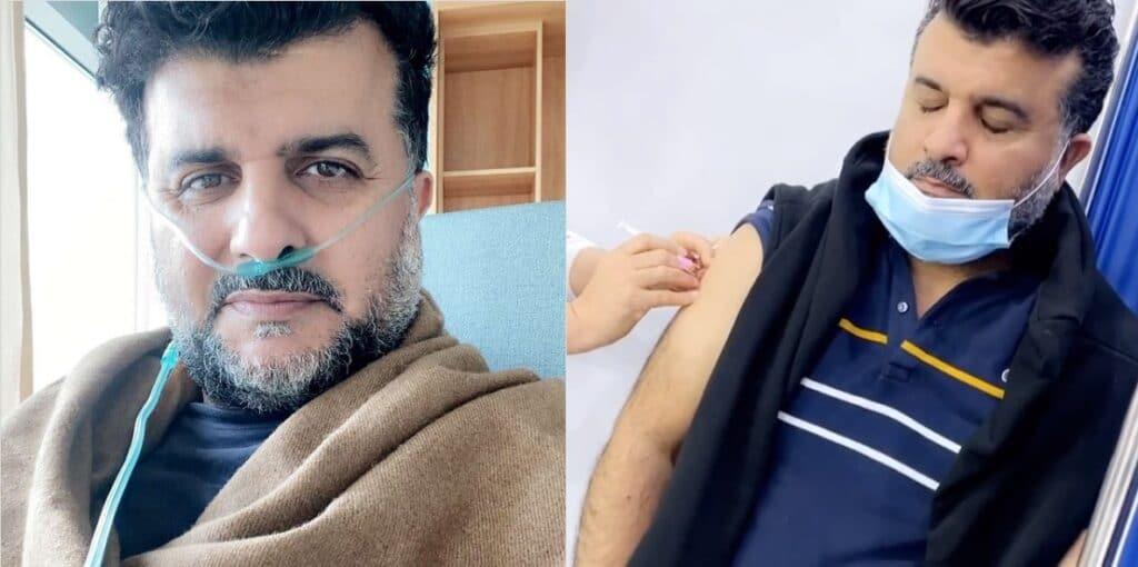مشاري البلام توفي بسبب إصابته بفيروس كورونا بعد تلقيه الجرعة الأولى من اللقاح