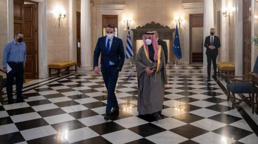 السعودية تستعين باليونان لحمايتها تزامناً مع توتر العلاقات مع تركيا