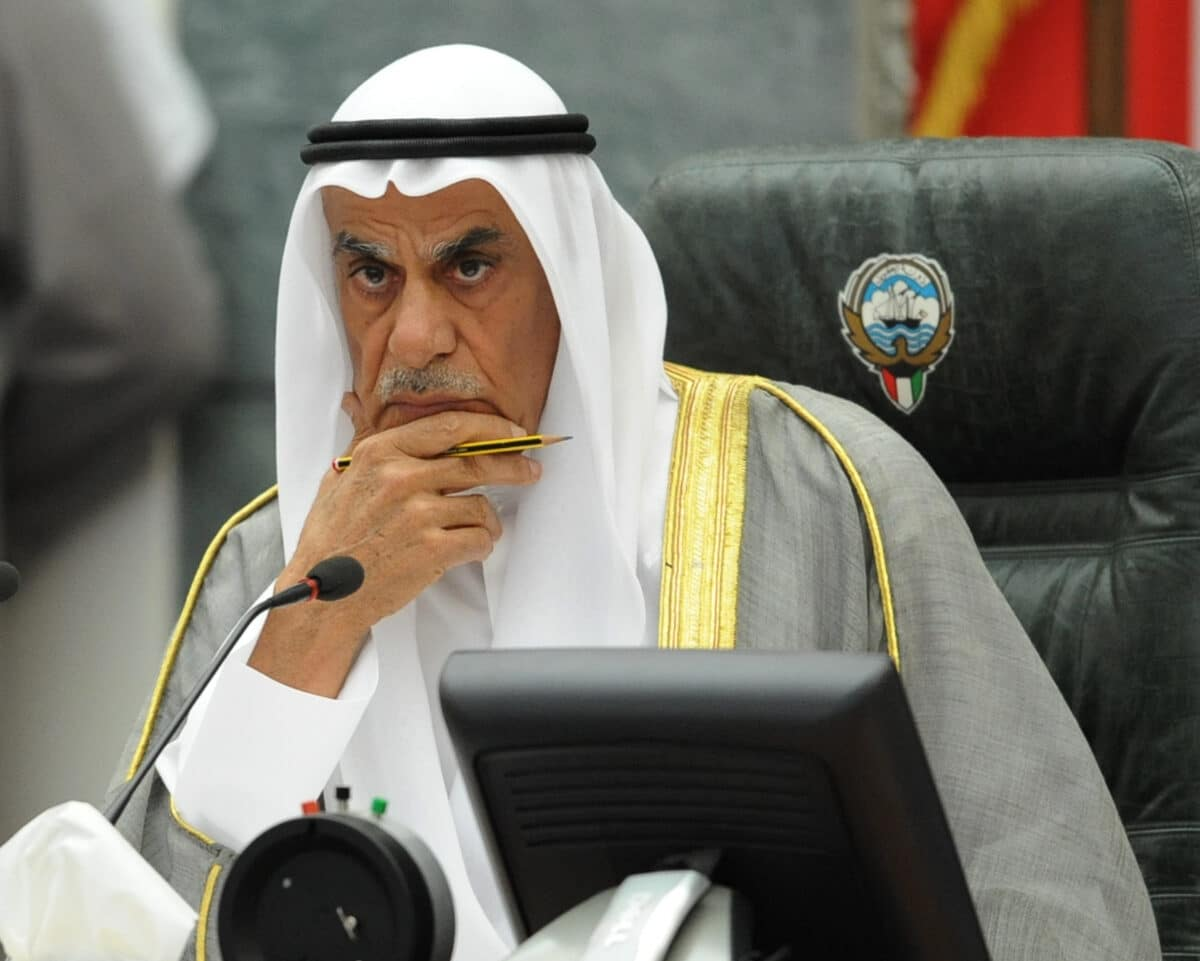 رئيس مجلس الامة السابق أحمد السعدون