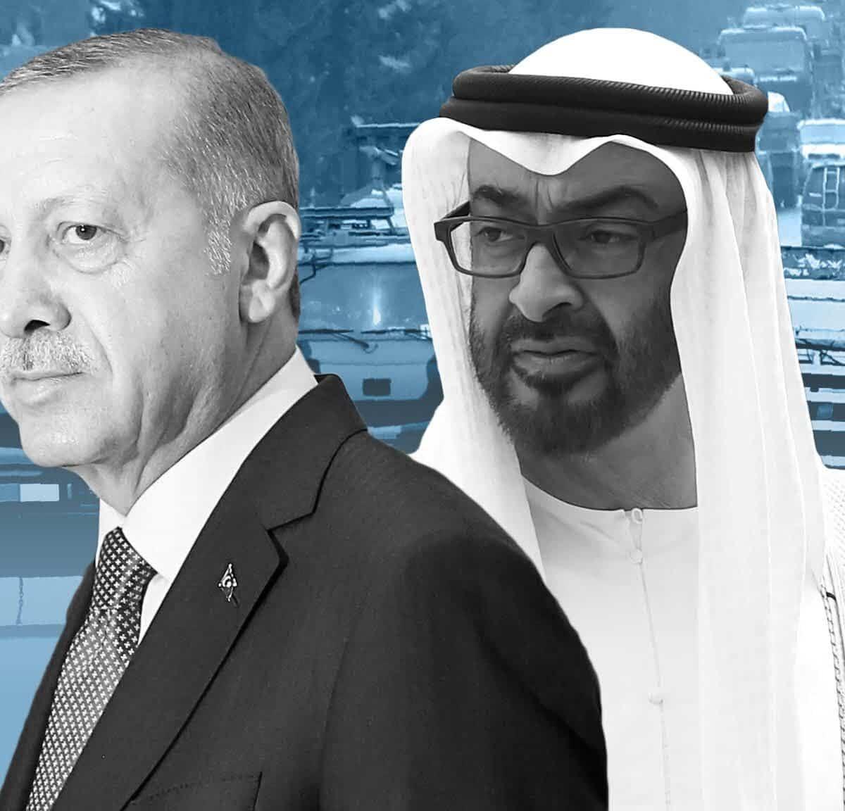 مستشار محمد بن زايد يضع 7 شروط للصلح مع أردوغان