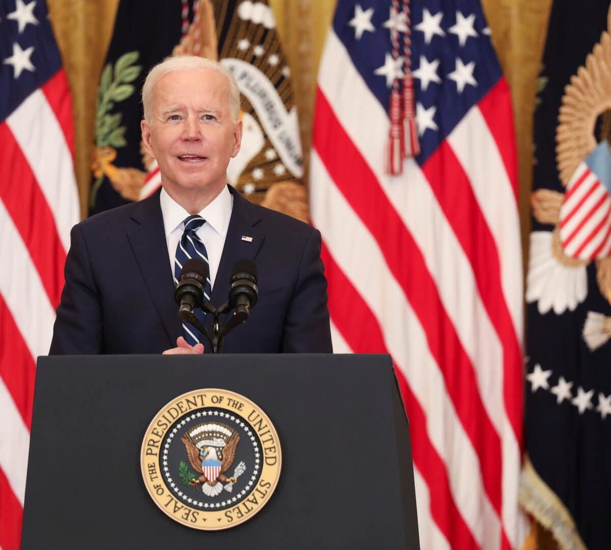 الرئيس الامريكي جو بايدن