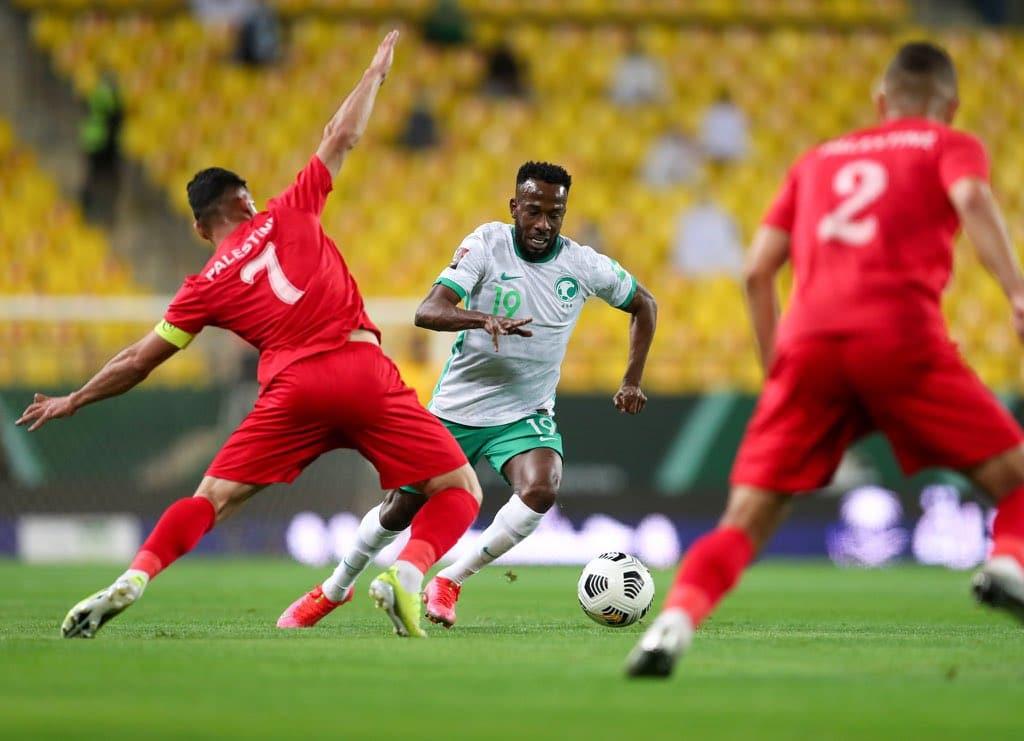 السعودية تتغلب على فلسطين بانتصار كبير وتتصدر تصفيات كأس آسيا