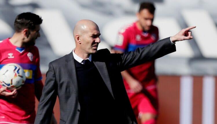 زيدان يحطم رم قياسي جديد مع ريال مدريد الإسباني