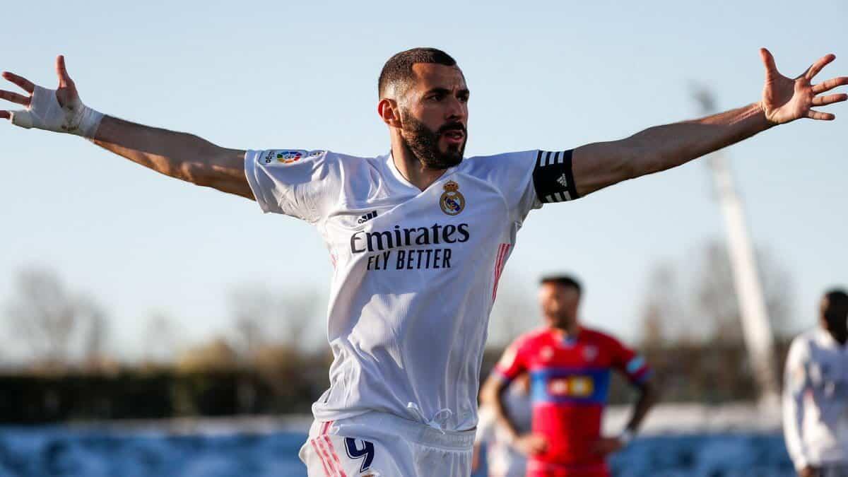 ريال مدريد يخطف النقاط الثلاثة من منافسه إلتشي ويحتل ثاني ترتيب الدوري