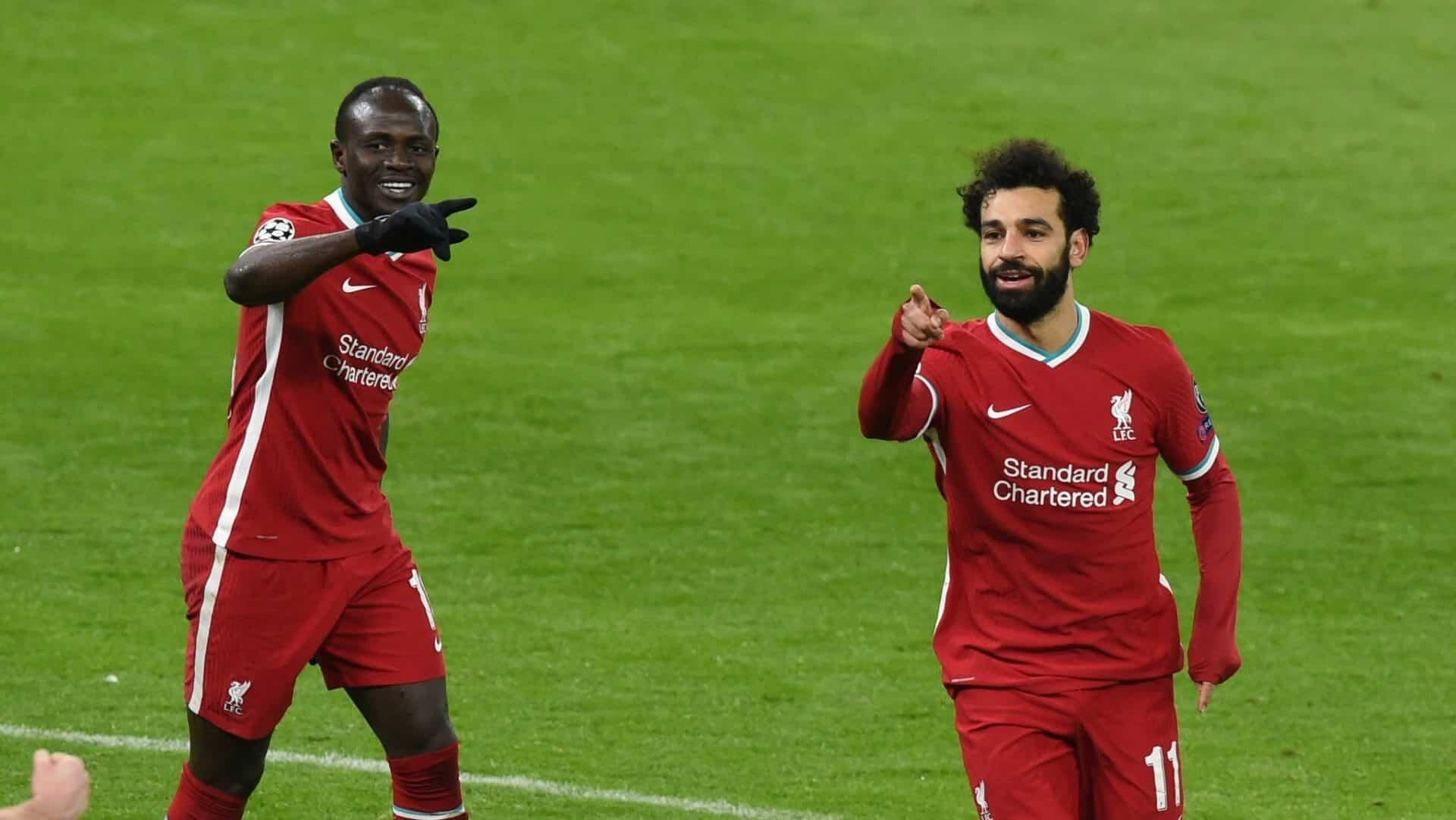 """""""شاهد"""" بنفس الأقدام المصرية والسنغالية ليفربول إلى دور الربع النهائي للأبطال"""