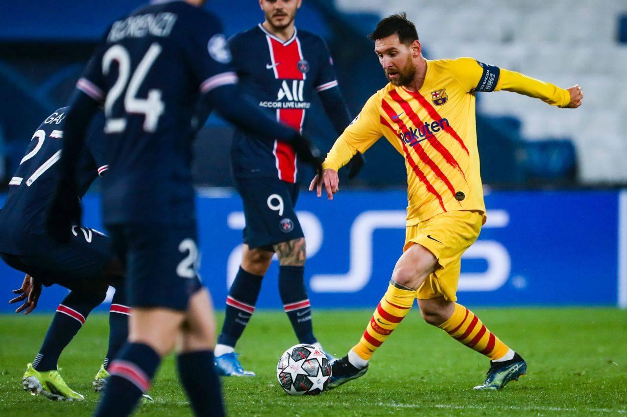 برشلونة يودع دوري أبطال أوروبا بعد إقصاءه من المنافس باريس سان جيرمان