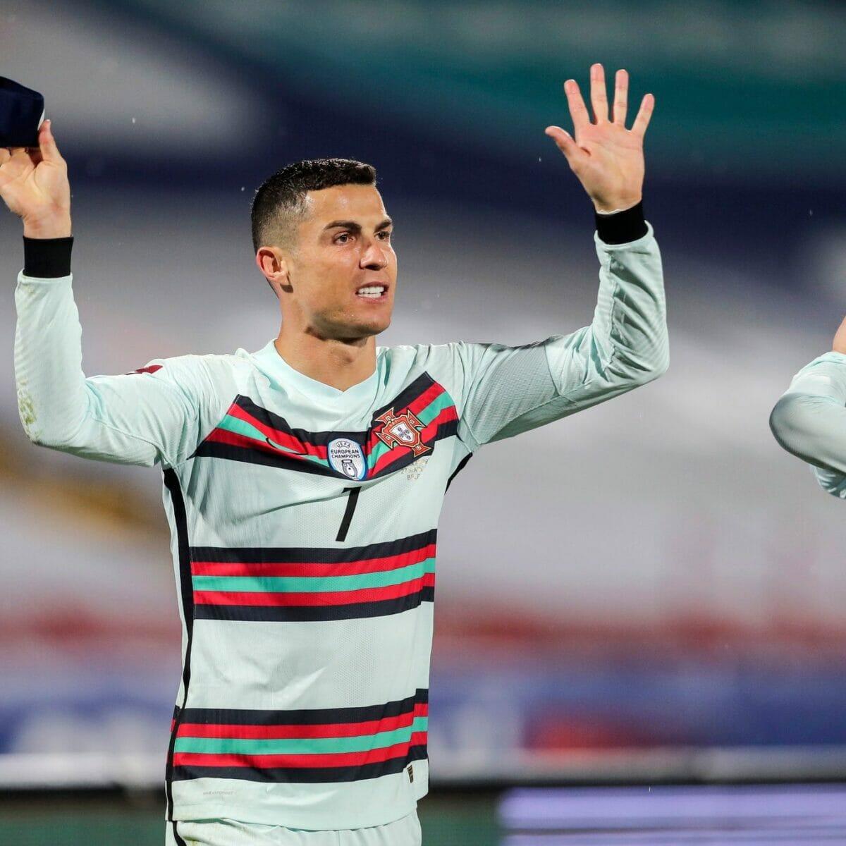 مباراة البرتغال وصربيا وهدف رونالدو الملغي