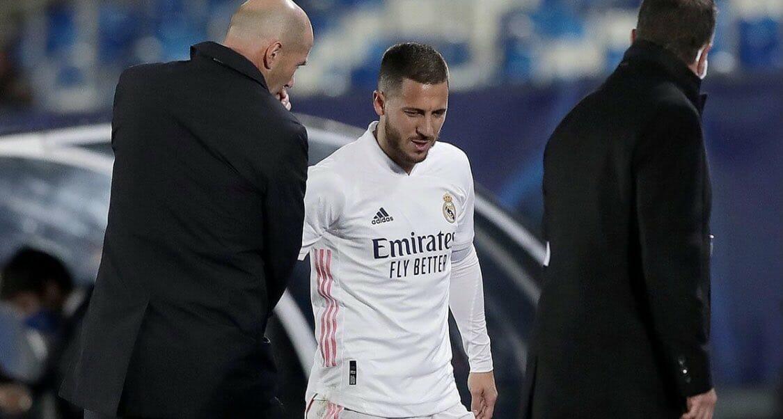 ريال مدريد يكشف عن السبب الحقيقي لإصابات هازارد المتكررة