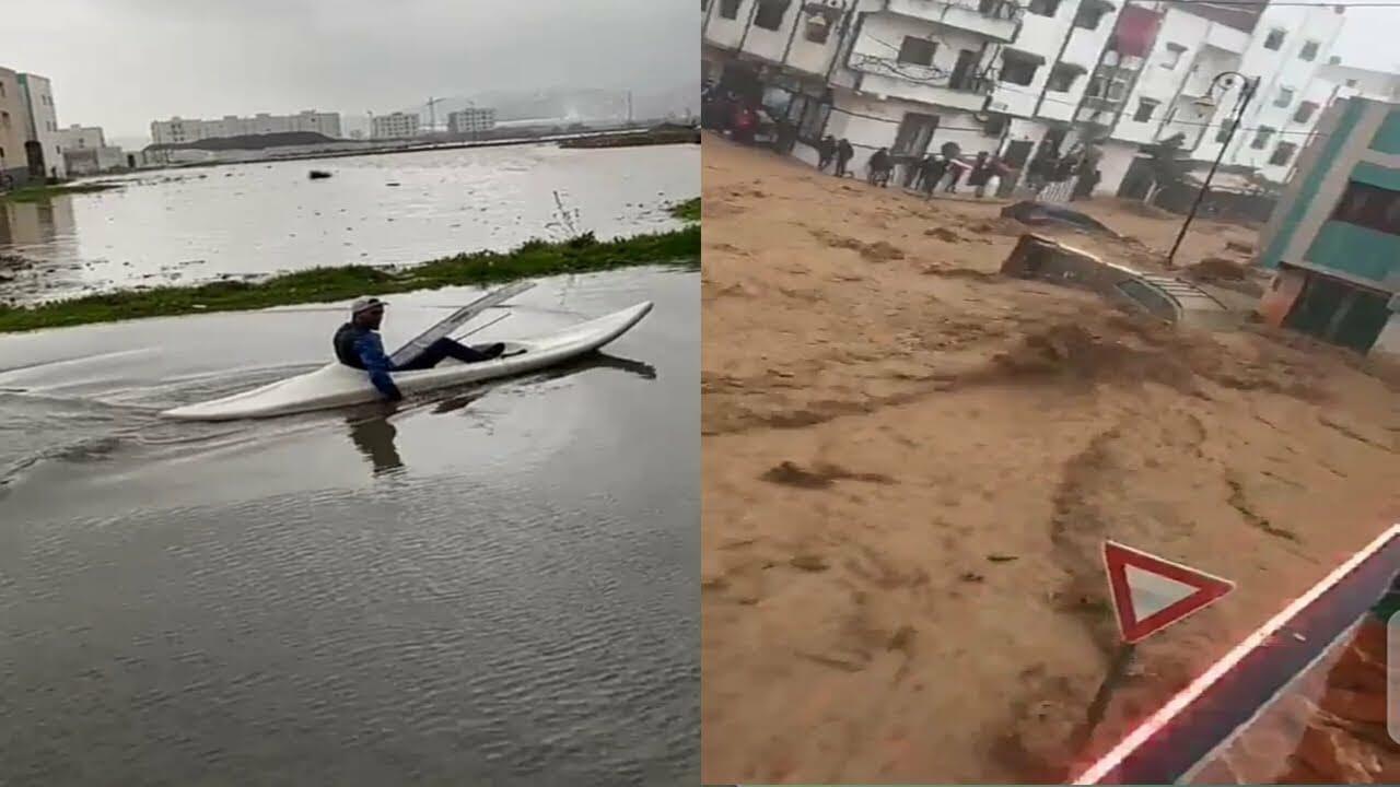 فيضانات تضرب المغرب وتغرق تطوان