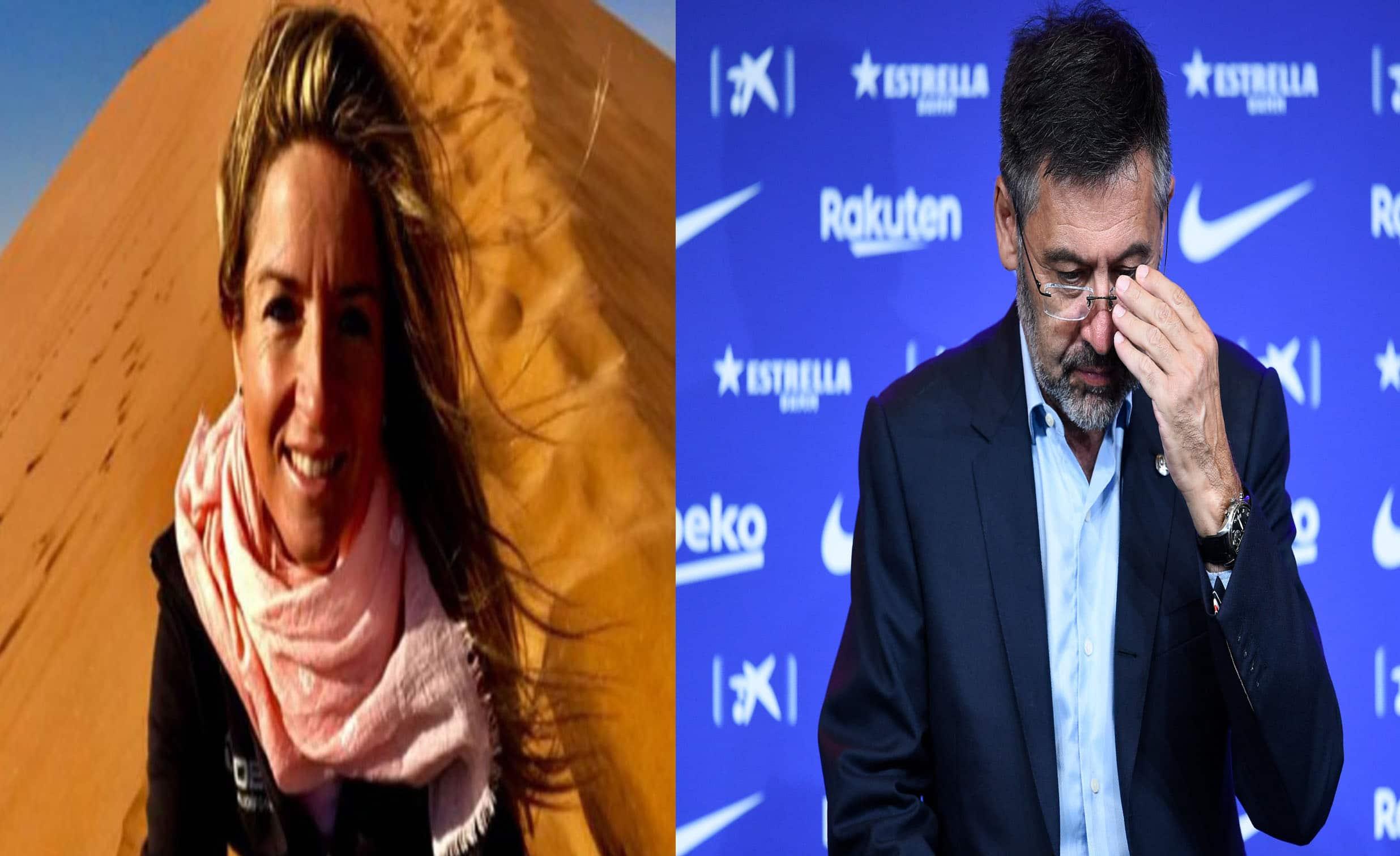 موظفة سابقة في فريق برشلونة طردها بارتوميو لتنتقم منه بإعترافها