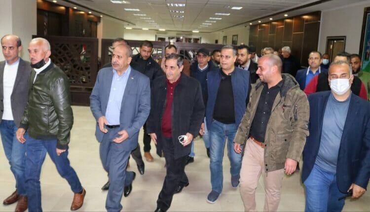 عودة رشيد أبو شباك إلى قطاع غزة