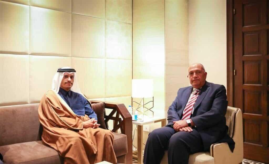 """سامح شكري يصف قطر """"بدولة شقيقة"""" بعد سنوات من القطيعة والشيطنة"""
