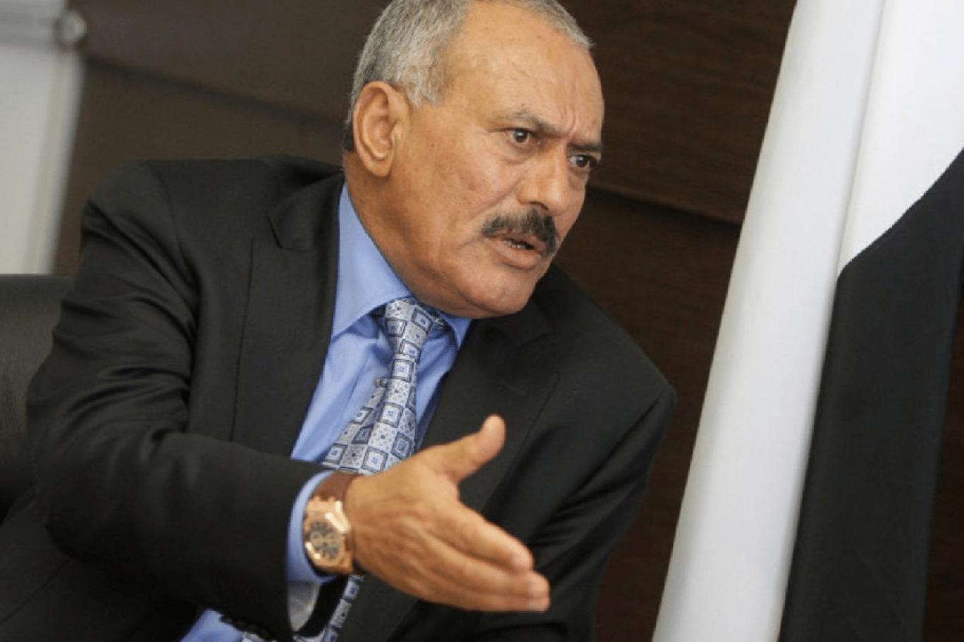شيخ قبلي بارز باليمن يكشف كيف خدعت الإمارات علي عبدالله صالح حتى سقط صريعا في دمائه