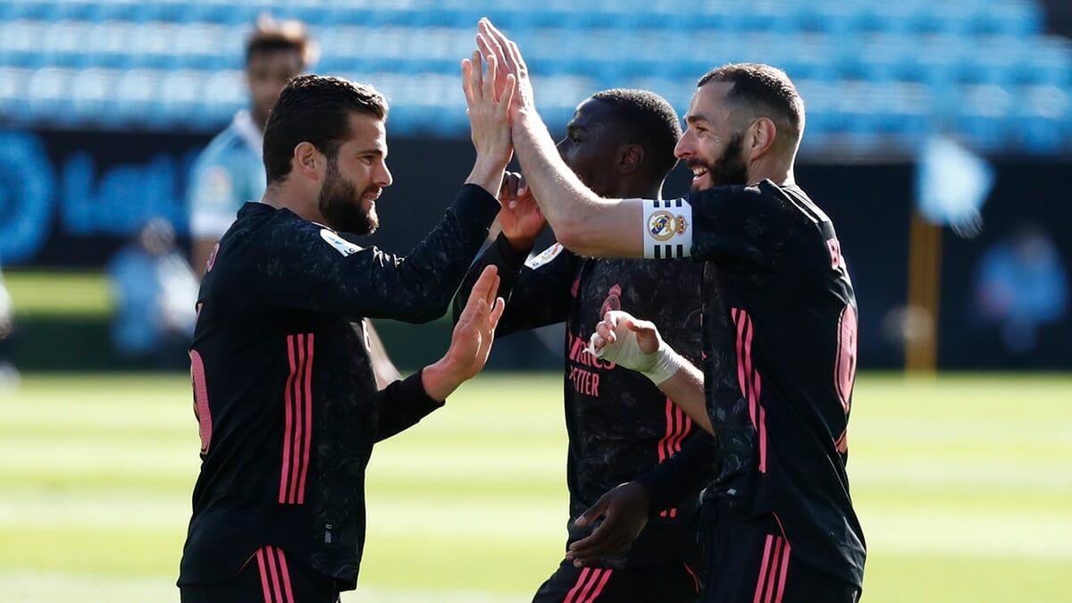 بنزيما يقود ريال مدريد في مواصلة قطار الانتصارات بفوز ثمين على سيلتا فيغو