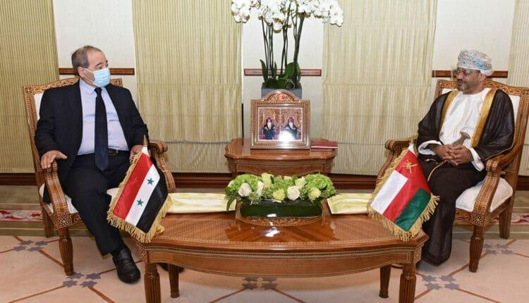 فيصل المقداد يتحدث عن موقف سلطنة عمان من الازمة السورية